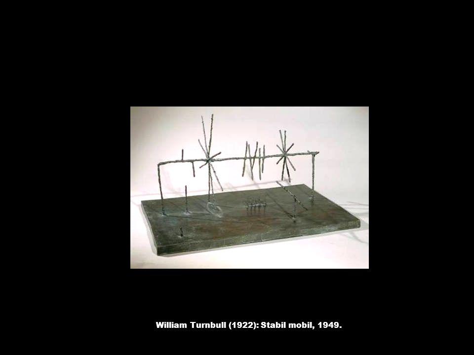 William Turnbull (1922): Stabil mobil, 1949.