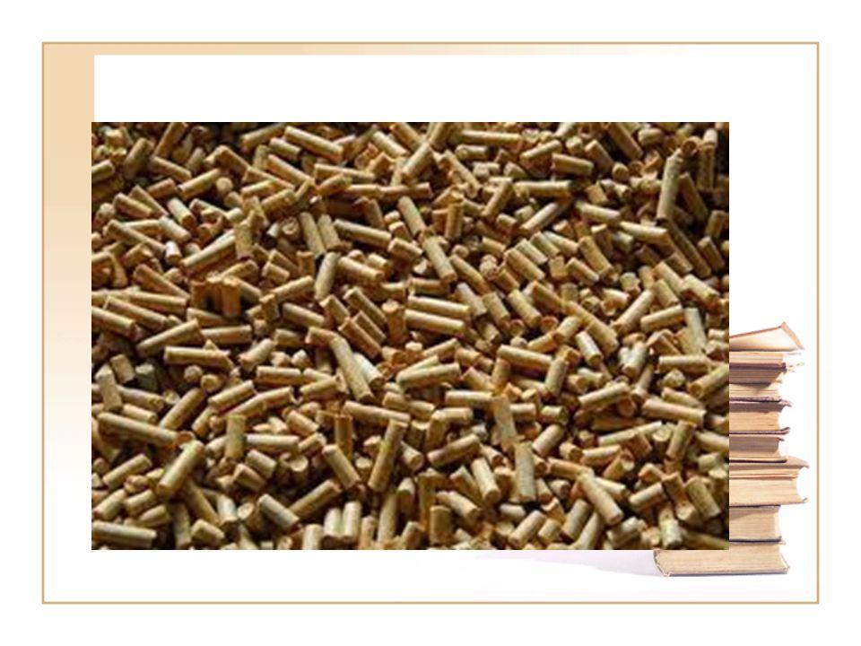 Pellet Energetikai koncentráció 10-25 mm-es tömörítvény Nagy sűrűség, tömörség Fajtái: fapellet (fűrészporból, forgácsból) agripellet (szalmából, energiafűből) Hamutartalom: 1- 10%) Hőértéke: 16,5-18,5 MJ/kg 2kg pellet=1m³ földgáz