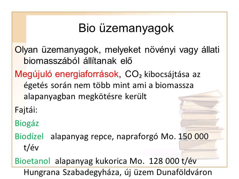 Biodízel 250 kg repce vagy 500 kg szójamagból 100 kg olaj nyerhető A kisajtolt növényi olaj egyszerű kémiai reakcióval alakul át biodízellé, vagy kémiai nevén növényi metilészterré (PME).