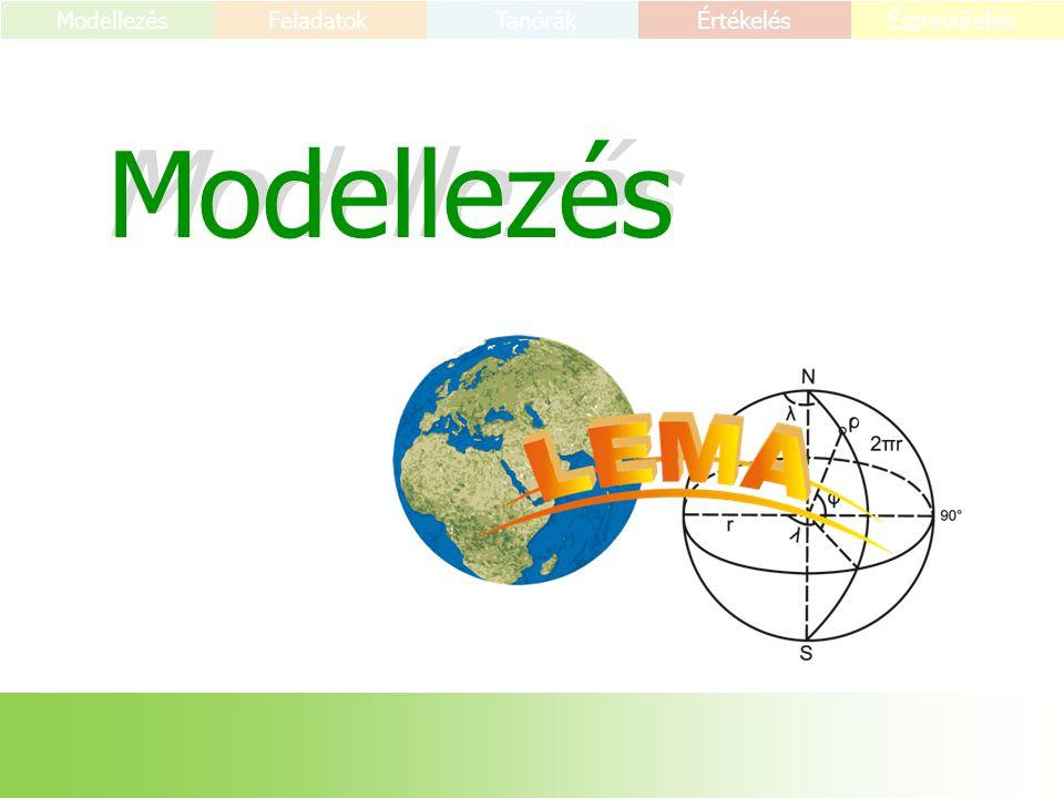 Modellezés Feladatok TanórákÉrtékelés Észrevételek