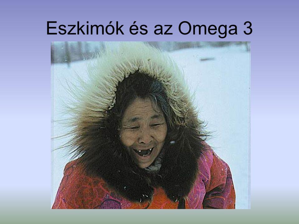Eszkimók és az Omega 3
