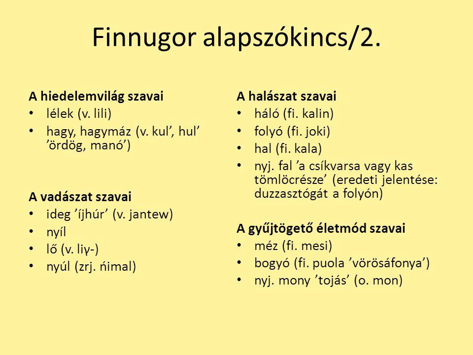 Csuvasos jellegű hangtani jelenségek a magyar nyelv török jövevényszavaiban/1.