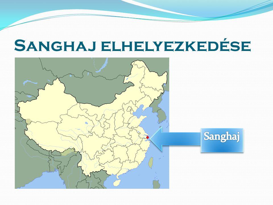 Sanghaj elhelyezkedése