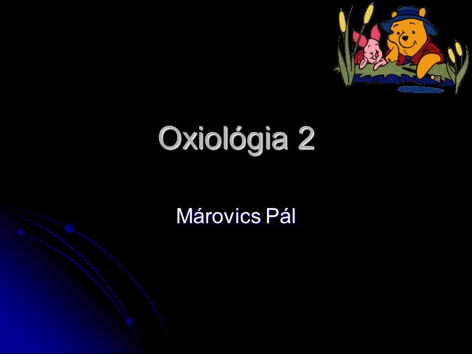 Oxiológia 2 Márovics Pál