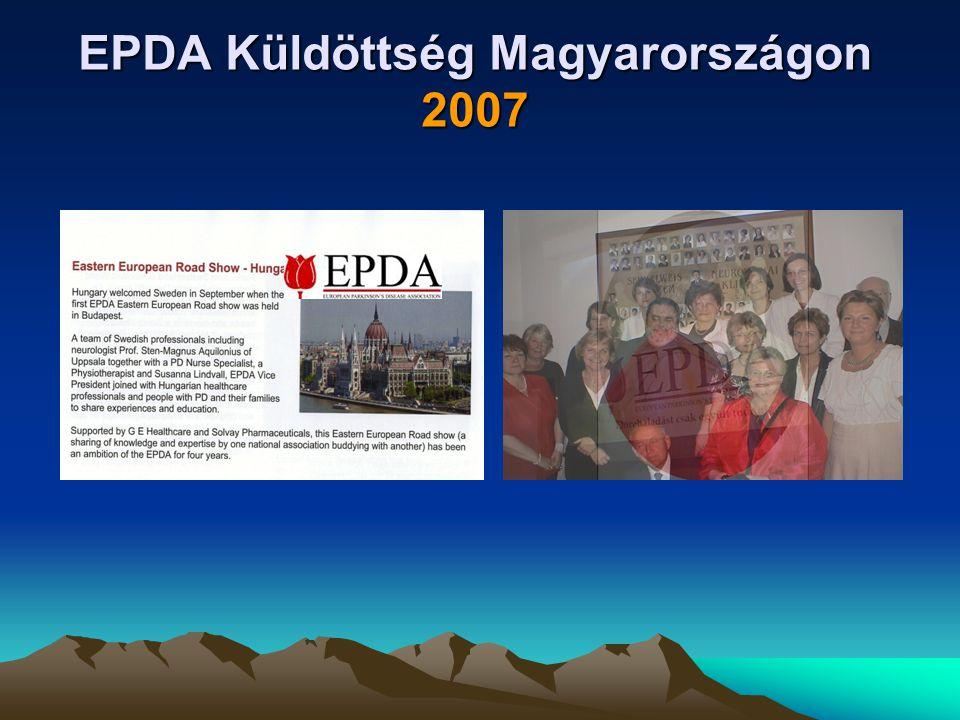 EPDA Küldöttség Magyarországon 2007