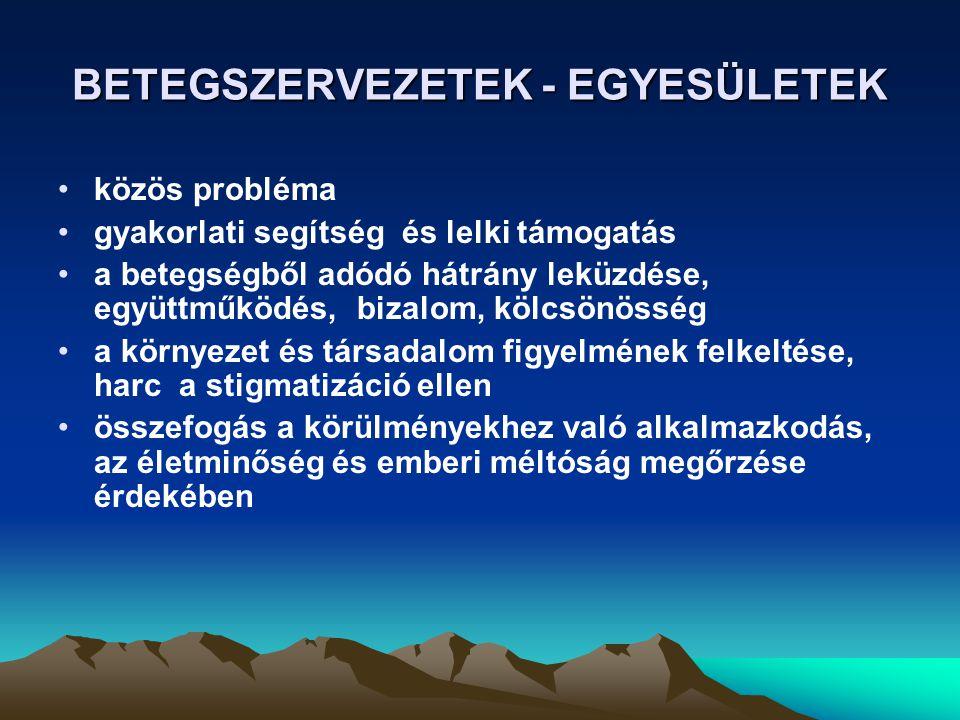 FELVILÁGOSÍTÓ KAMPÁNY 2008 A PARKINSON- KÓR LÁTHATÓ - TEDD ÉLHETŐVÉ .