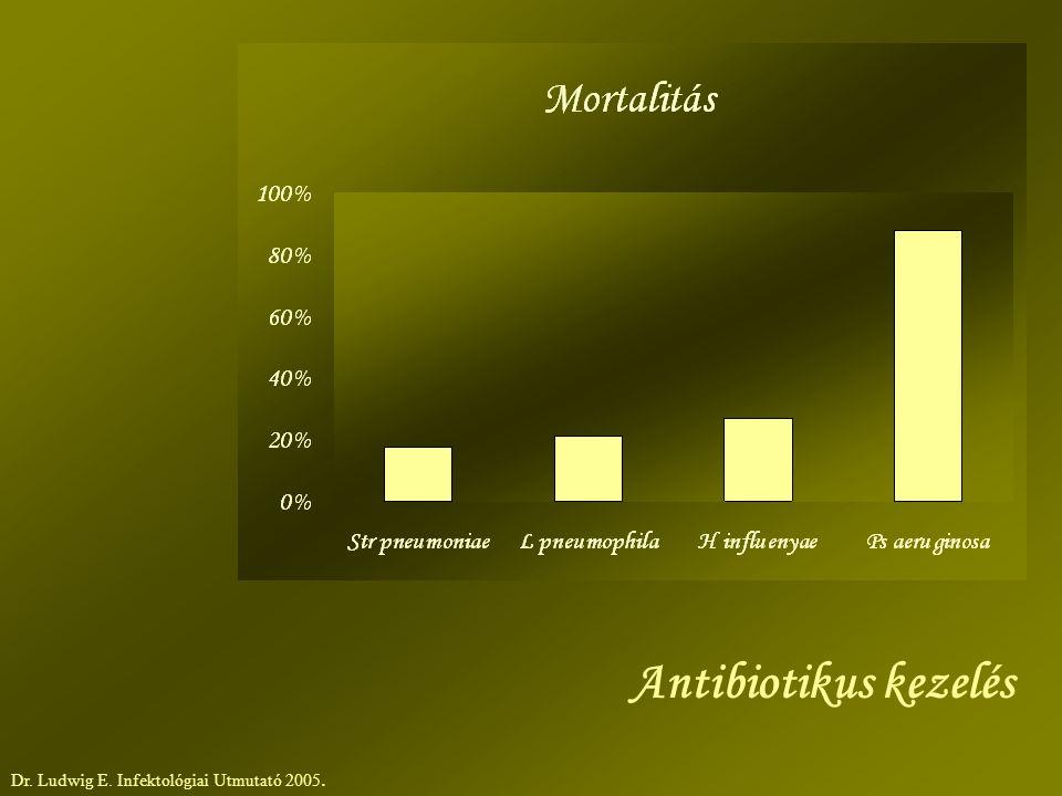 Antibiotikus kezelés Dr. Ludwig E. Infektológiai Utmutató 2005.