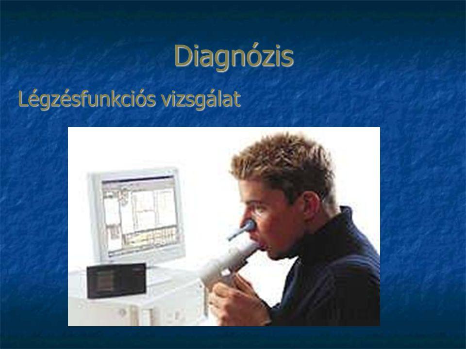 Diagnózis Légzésfunkciós vizsgálat
