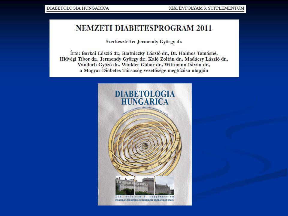 I.A Nemzeti Diabetesprogram 2011 létrehozásának indoka I/1.