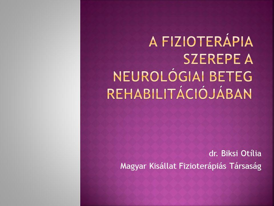 dr. Biksi Otília Magyar Kisállat Fizioterápiás Társaság