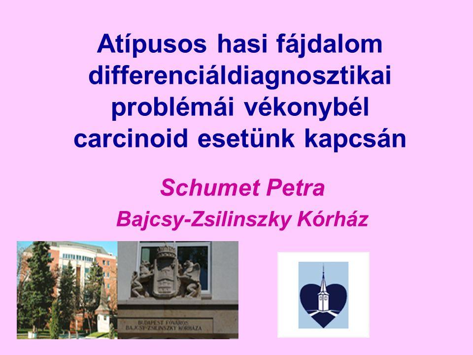 GEP-NET: gastroentero-pancreaticus neuroendocrin tumorok (APUD-oma) Az összes gastrointestinális daganat kb.