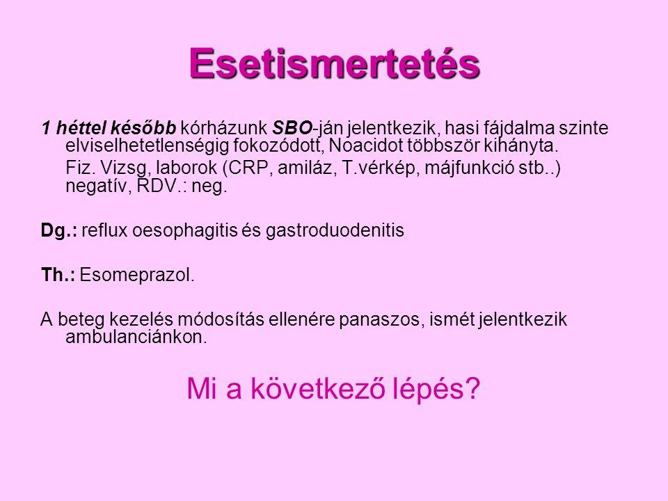 1.Hasi CT 2. Psychiatriai konzíliumot kérek 3. Hasi MR 4.