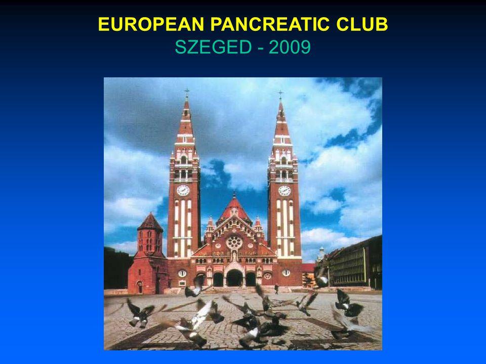 EUROPEAN PANCREATIC CLUB SZEGED - 2009