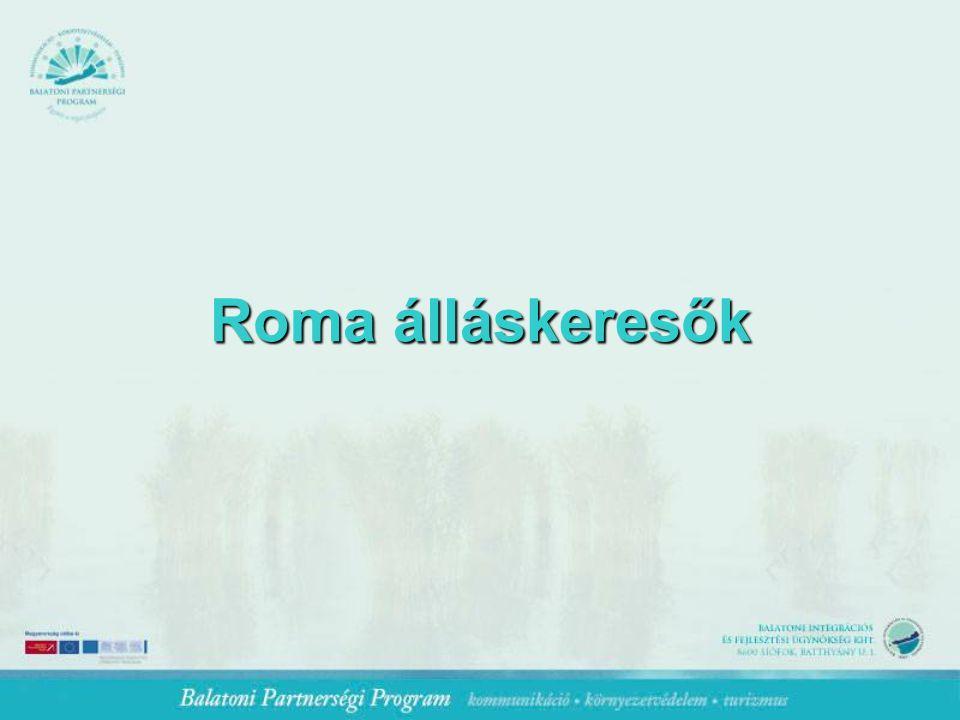 Roma álláskeresők