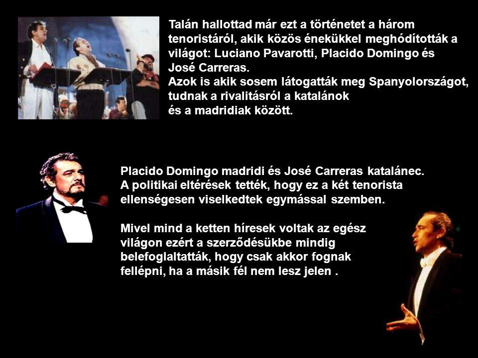 Két tenorista igaz története