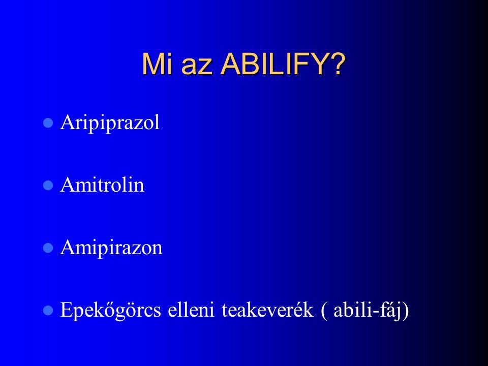 Fő kompetítorok: Zyprexa ( olanzapin) – Fő ellenérv: elhízás Risperdal ( risperidon) – Fő ellenérv: dózisfüggő EPS és prolaktinszint emelkedés Ziprasi