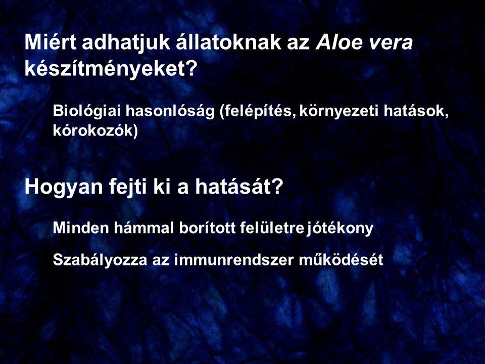 Külsőleges alkalmazás A legnépszerűbb FLP készítmény az állatorvosi gyakorlatban az Aloe First Aloe vera Körömvirág Cickafark Kakukkfű Kamilla Gyermekláncfű Eukaliptusz Golgotavirág Orvosi zsálya Gyömbér Borrágófű Szantálfa + propolisz