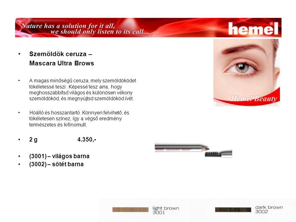 Szemöldök ceruza – Mascara Ultra Brows A magas minőségű ceruza, mely szemöldöködet tökéletessé teszi.