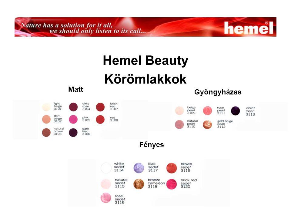 Hemel Beauty Körömlakkok Matt Gyöngyházas Fényes