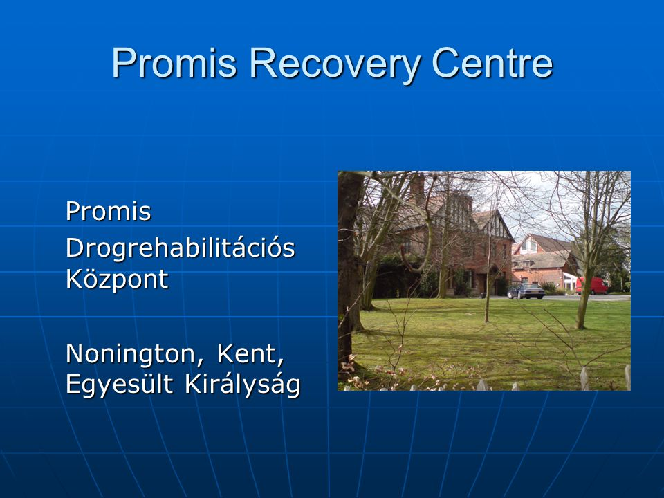 Promis Recovery Centre Promis Drogrehabilitációs Központ Nonington, Kent, Egyesült Királyság