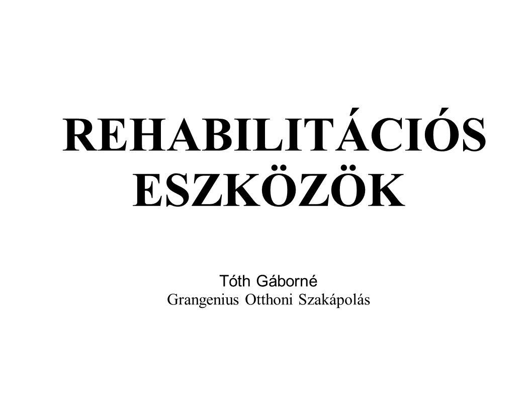  Rehabilitáció fogalma:  régen kizárólag erkölcsi és jogi fogalom volt.