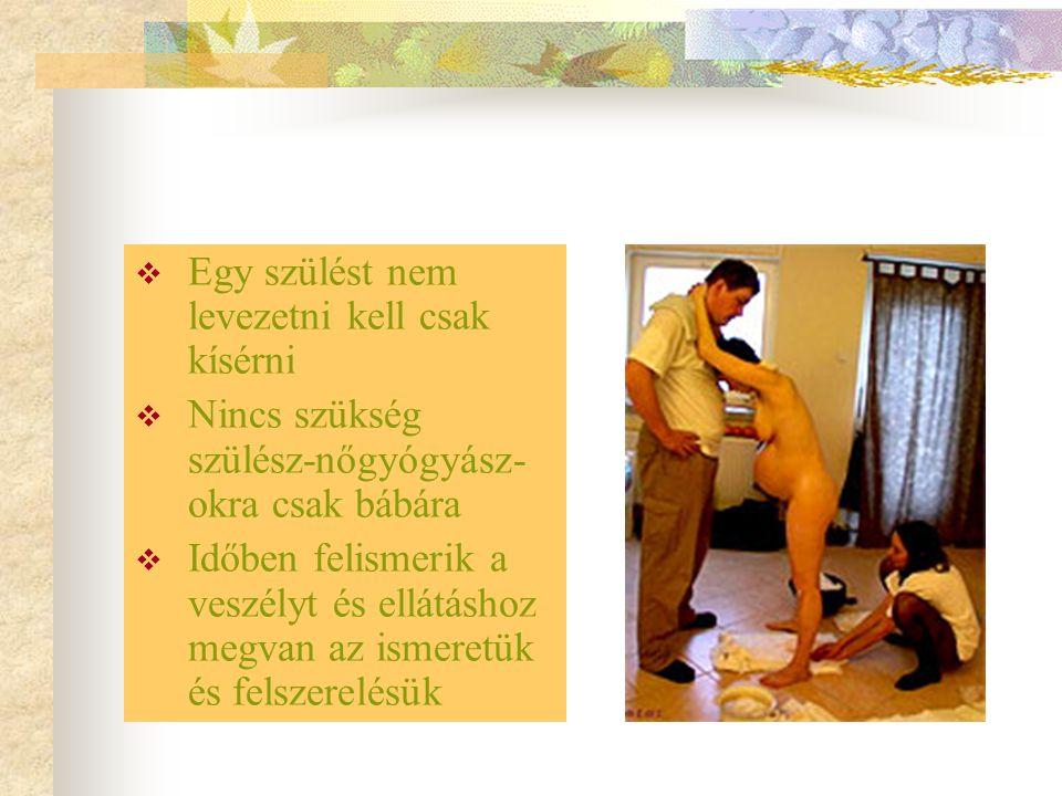 Magyarországon is csak 50 éve szülnek korházban a nők szóval ha addig meg tudták oldani a nők maguktól a szülést akkor ez persze felügyelettel mért ne mehetne