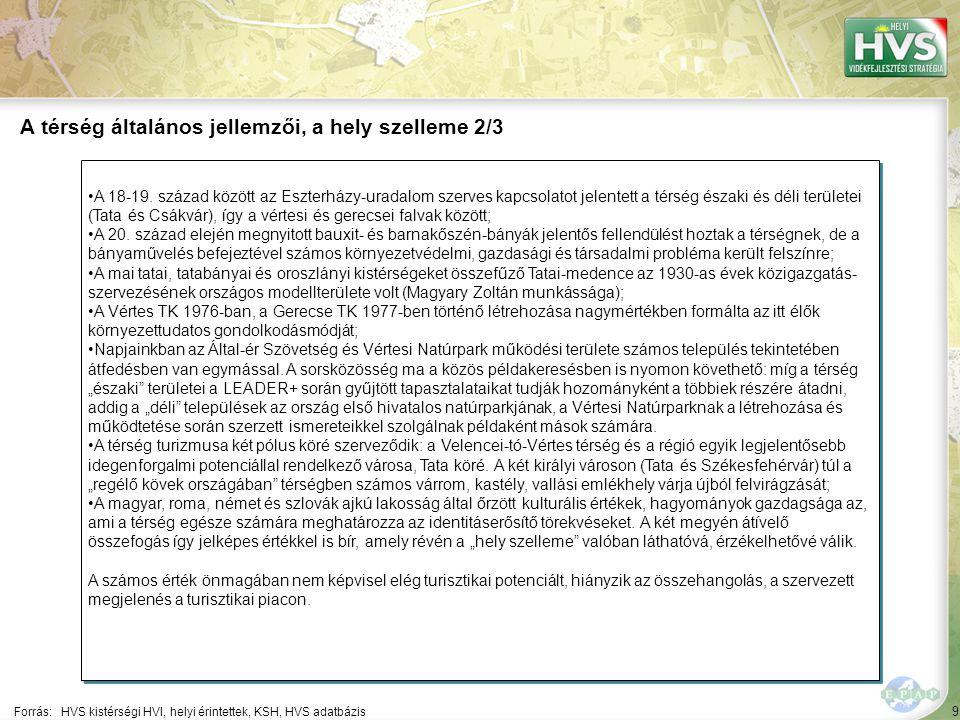 9 A 18-19. század között az Eszterházy-uradalom szerves kapcsolatot jelentett a térség északi és déli területei (Tata és Csákvár), így a vértesi és ge