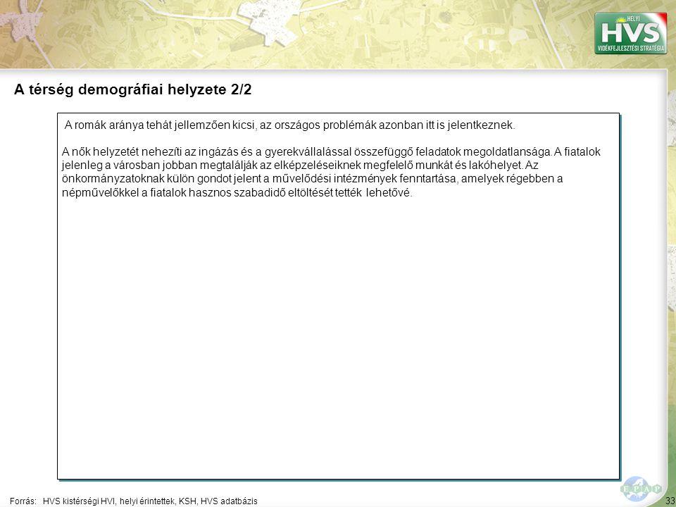33 A romák aránya tehát jellemzően kicsi, az országos problémák azonban itt is jelentkeznek. A nők helyzetét nehezíti az ingázás és a gyerekvállalássa