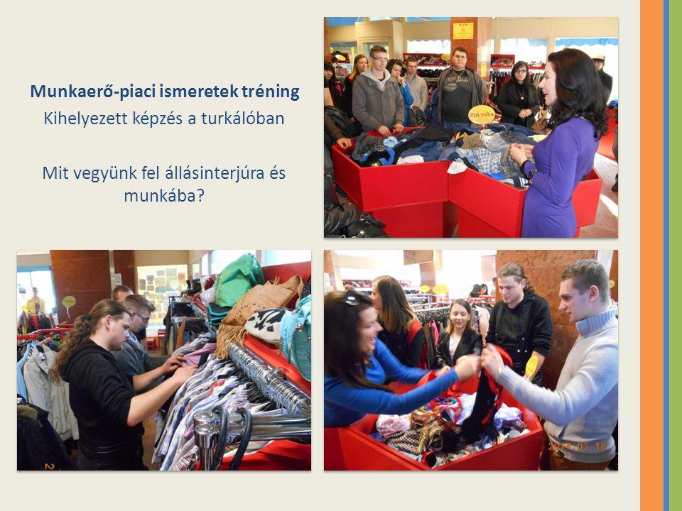 Munkaerő-piaci ismeretek tréning Kihelyezett képzés a turkálóban Mit vegyünk fel állásinterjúra és munkába?