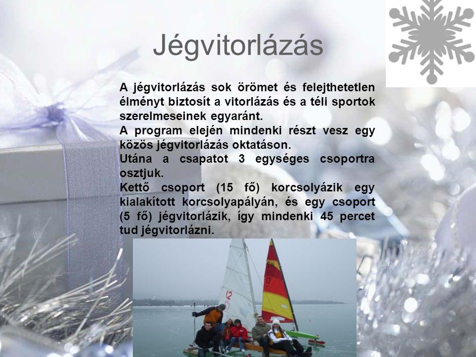 Jégvitorlázás A jégvitorlázás sok örömet és felejthetetlen élményt biztosít a vitorlázás és a téli sportok szerelmeseinek egyaránt. A program elején m