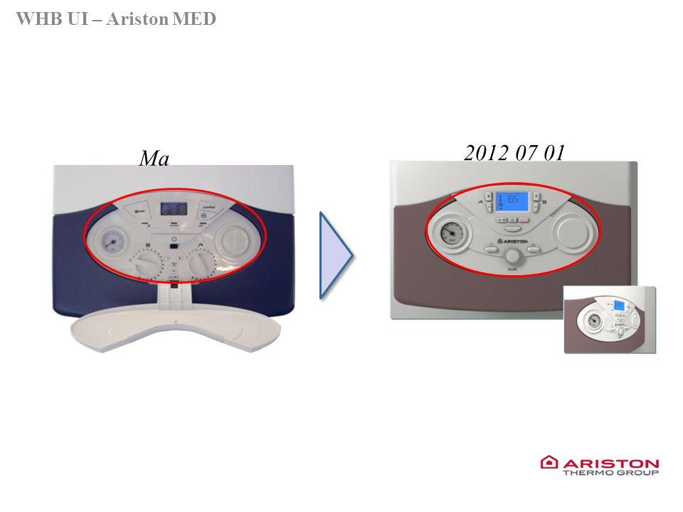 Training manual – GALILEO EVOLUTIONVersione 1V0 Ma 2012 07 01 WHB UI – Ariston MED