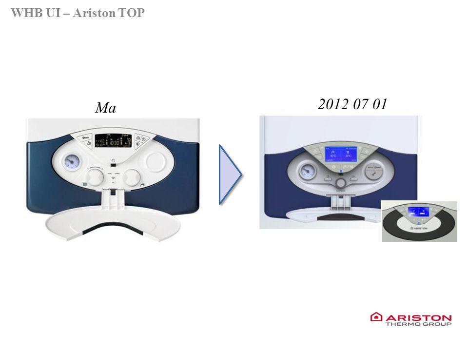 Training manual – GALILEO EVOLUTIONVersione 1V0 Ma 2012 07 01 WHB UI – Ariston TOP