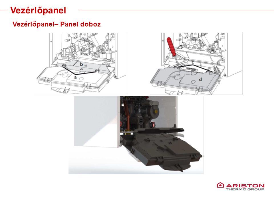 Training manual – GALILEO EVOLUTIONVersione 1V0 Vezérlőpanel Vezérlőpanel– Panel doboz