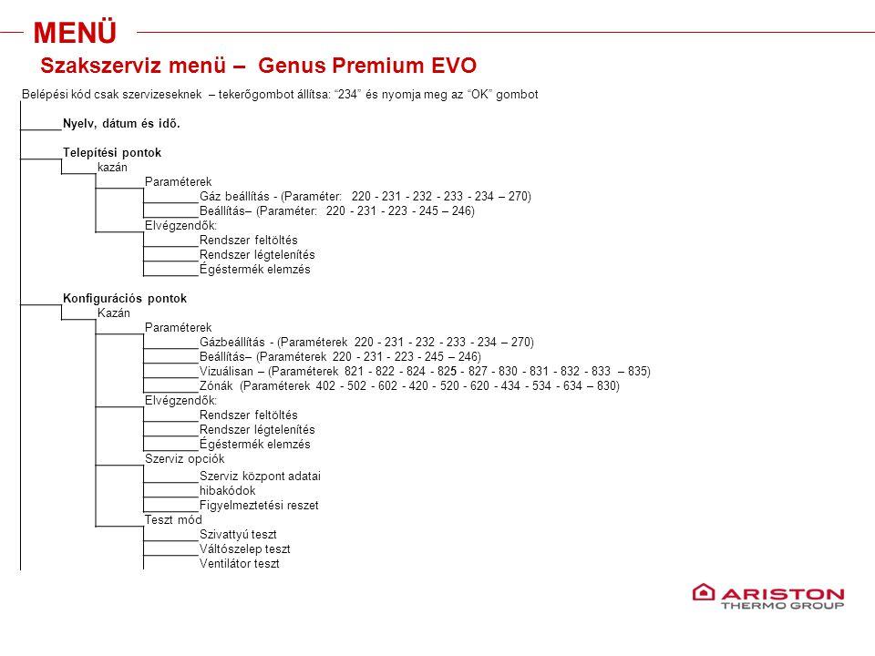 """Training manual – GALILEO EVOLUTIONVersione 1V0 Belépési kód csak szervizeseknek – tekerőgombot állítsa: """"234"""" és nyomja meg az """"OK"""" gombot Nyelv, dát"""