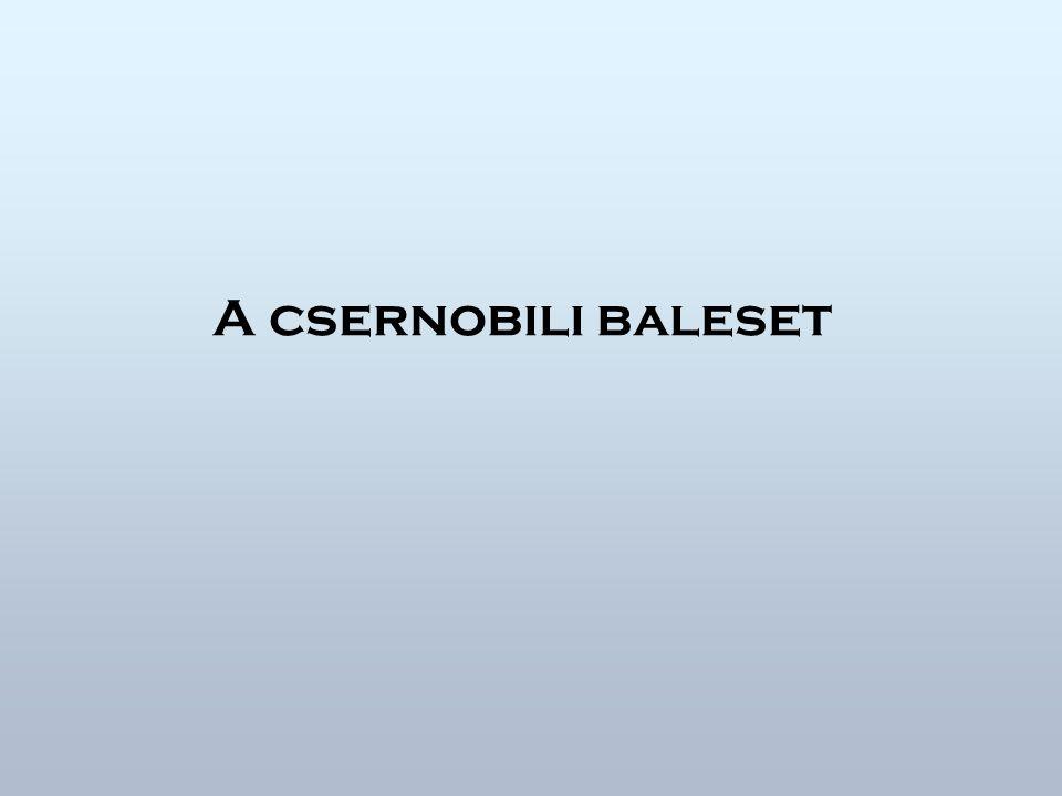 A csernobili baleset