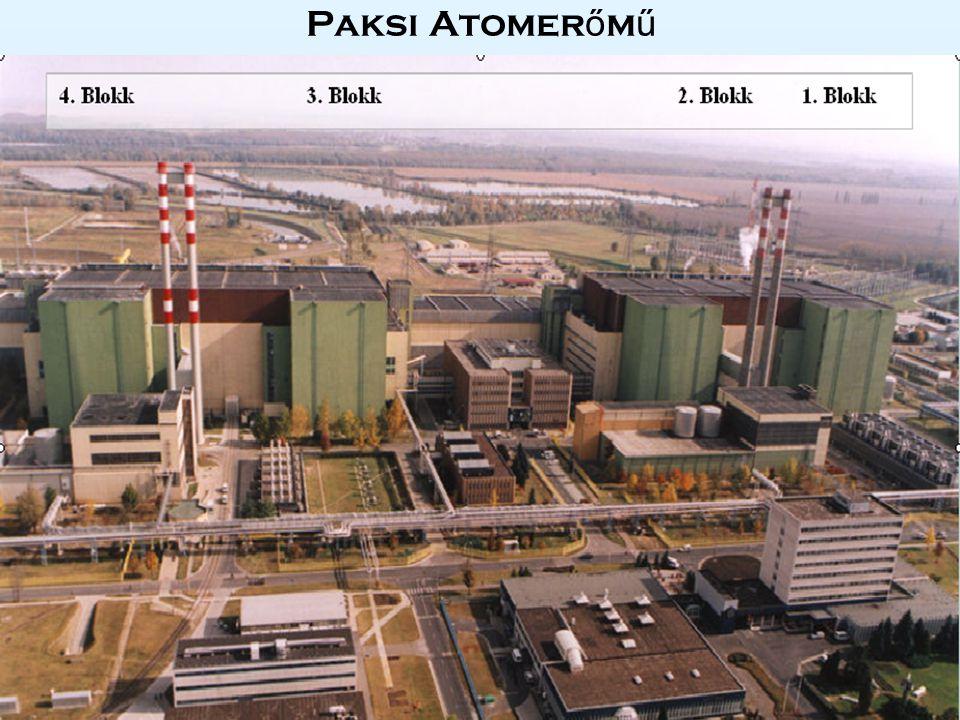 RBMK reaktor RBMK - Reaktor Bolsoj Mosnosztyi Kanalnogo tipa - nagy teljesítményű csatorna típusú reaktor Világ első atomerőművi reaktora (1954, Obnyinszk) Energiaterm.