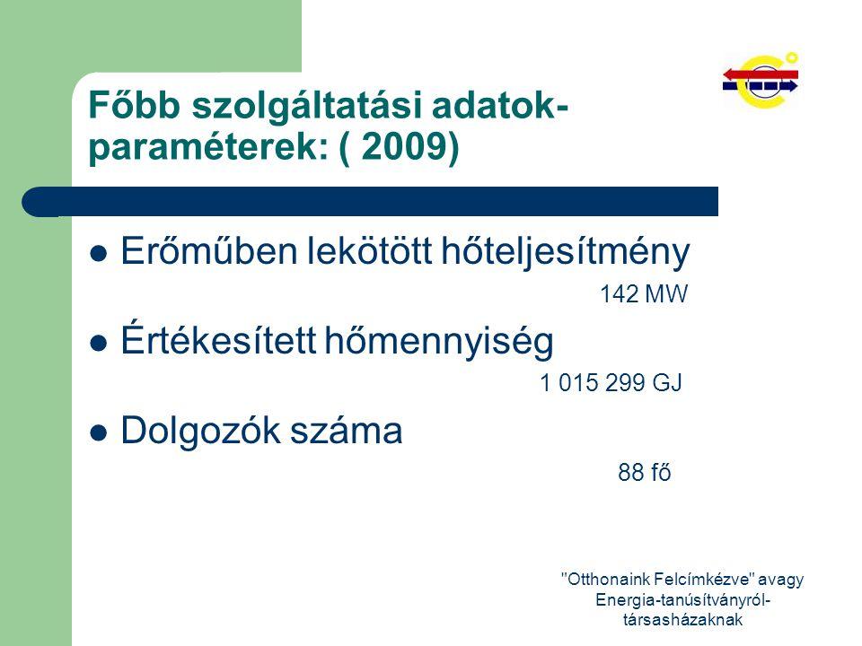 Otthonaink Felcímkézve avagy Energia-tanúsítványról- társasházaknak Köszönöm a megtisztelő figyelmüket!