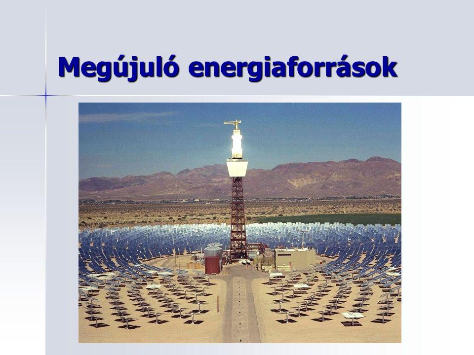 Megújuló energiaforrások