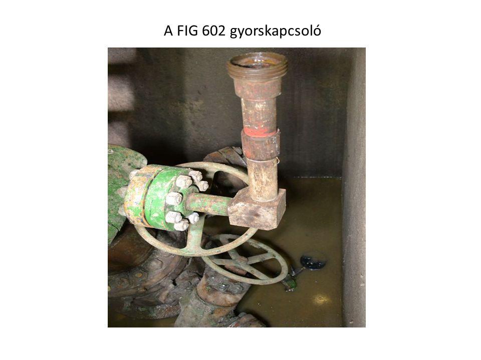 A FIG 602 gyorskapcsoló