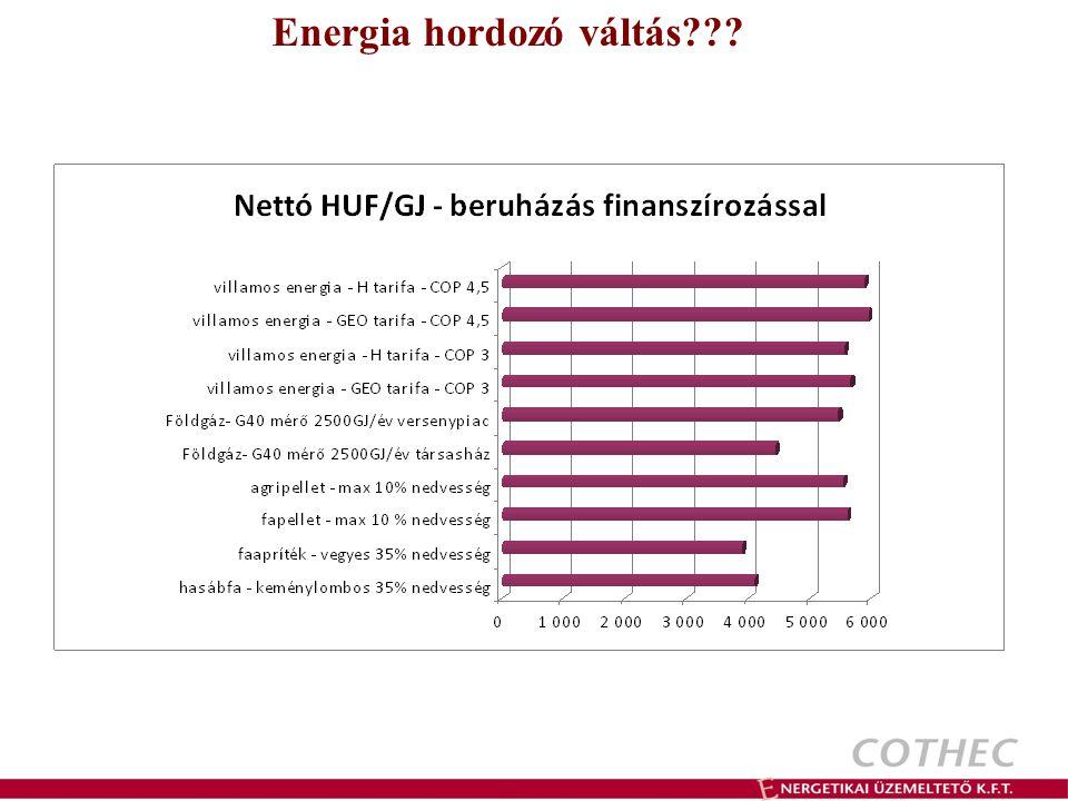 Cothec – Biotech Biomassza alapú hőszolgáltatás Pellet tüzelésű rendszerek Kis-közepes intézmények esetében, 30-300 (500-800???) kW teljesítmény igényig Előnyei: jól illeszthető a meglévő szekunder rendszerekhez jól szabályozható tiszta, automatizálható tüzelőanyag Mik vannak az anyagi előnyökön túl?.