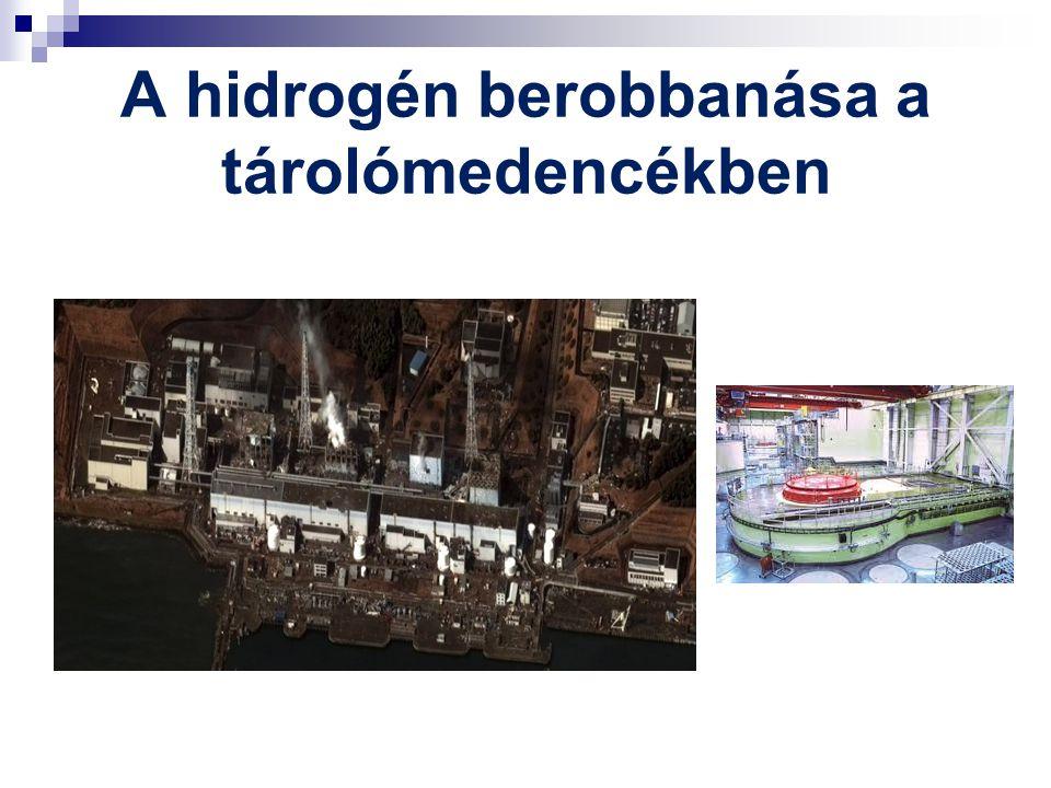 A hidrogén berobbanása a tárolómedencékben
