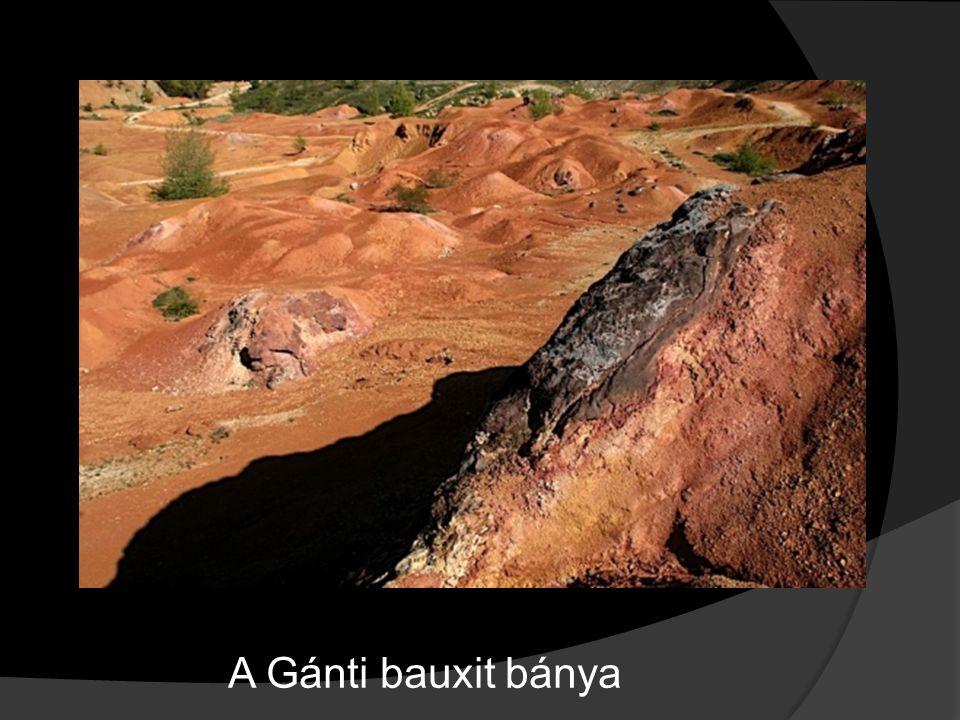 A Gánti bauxit bánya