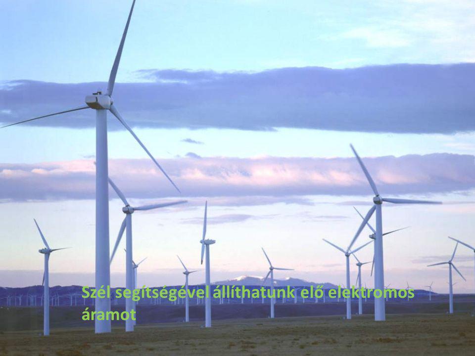Szél segítségével állíthatunk elő elektromos áramot