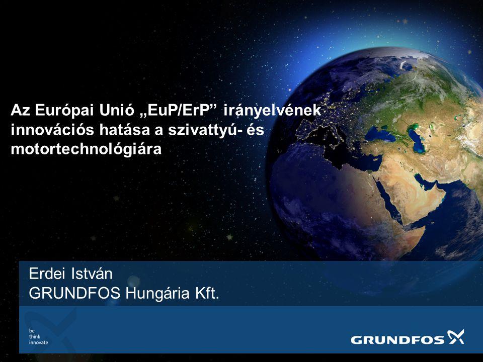 Erdei István GRUNDFOS Hungária Kft.