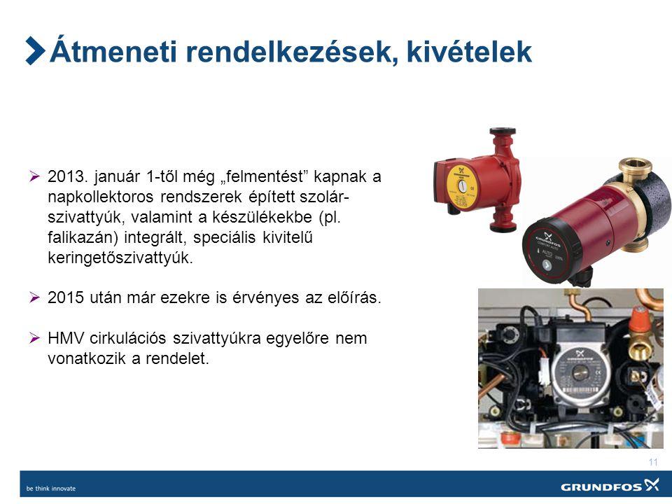 11 Átmeneti rendelkezések, kivételek  2013.