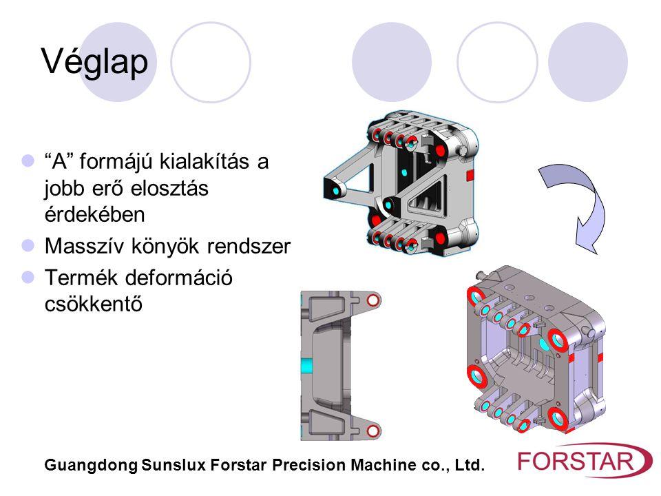 """Véglap """"A"""" formájú kialakítás a jobb erő elosztás érdekében Masszív könyök rendszer Termék deformáció csökkentő Guangdong Sunslux Forstar Precision Ma"""