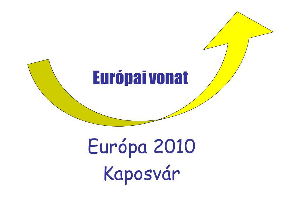 Európai vonat Európa 2010 Kaposvár