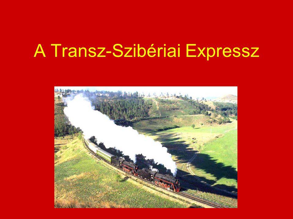 A Transz-Szibériai Expressz