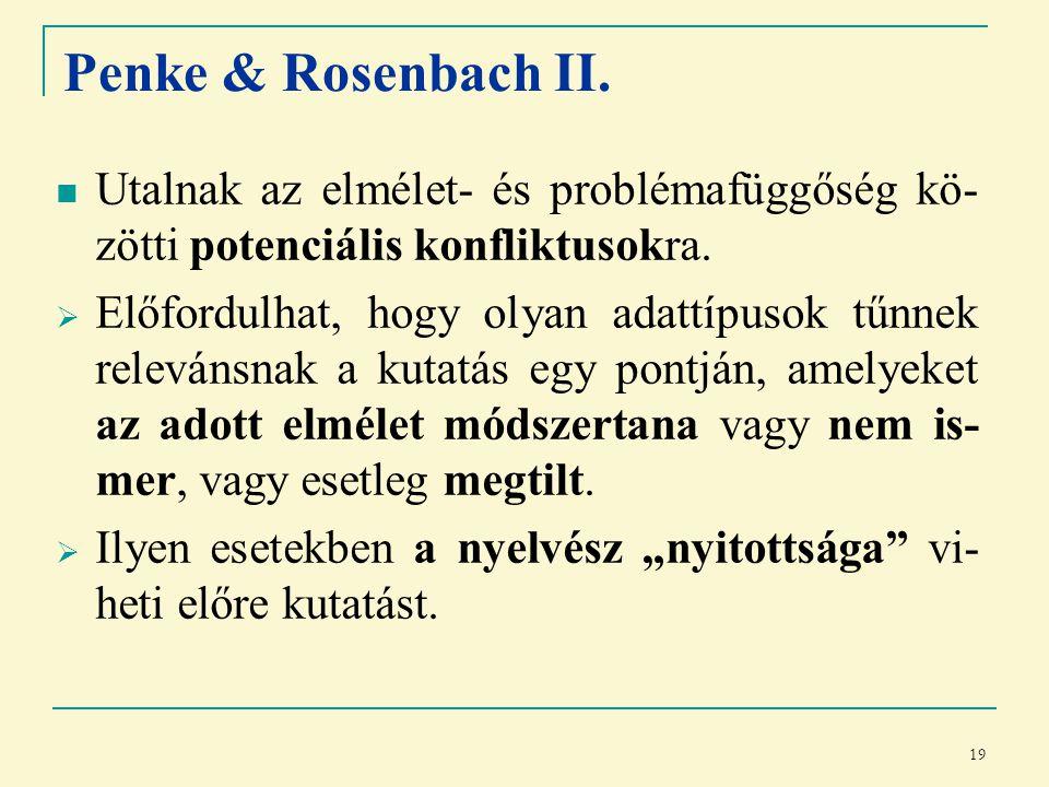 19 Penke & Rosenbach II.