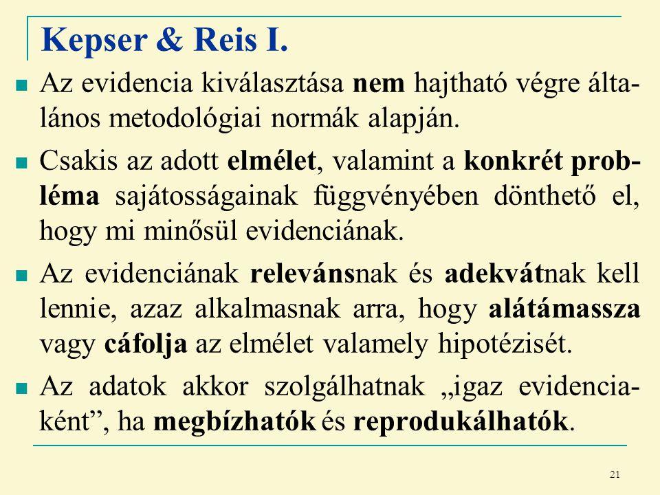 21 Kepser & Reis I.